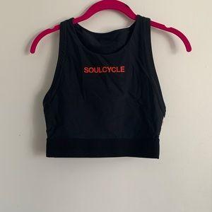 Soulcycle x PE crop sports bra